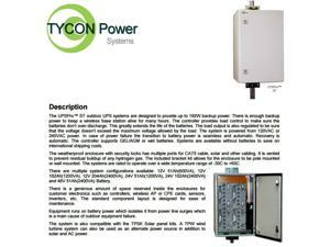 Tycon Power UPS-ST12-100 UPSPro 144W 1200VA, 12VDC Regulated Output
