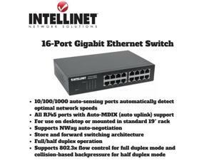 Intellinet 16-Port Gigabit Ethernet Switch