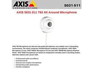 AXIS 5031-511 T83 All Around Microphone