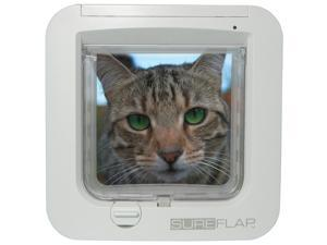 SureFlap Microchip Cat Door White No Collar or Tag Required