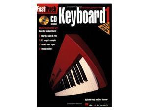 FastTrack Music Instruction - Keyboard, Book 1 (Fasttrack Series) Paperback
