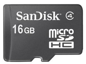SanDisk 16GB Micro SDHC Flash Card Model SDSDQ-016G BULK PACKAGE