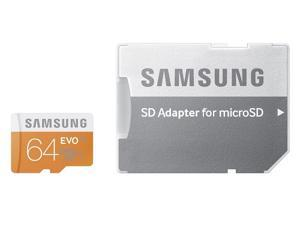 Samsung Electronics 64GB EVO Micro SDXC with Adapter Upto 48MB/s Class 10 Memory Card (MB-MP64D)