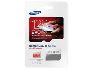 Samsung Evo Plus 128GB MicroSD XC Class 10 UHS-1 80mb/s Mobile Memory Card 128G MB-MC128DA with Adapter