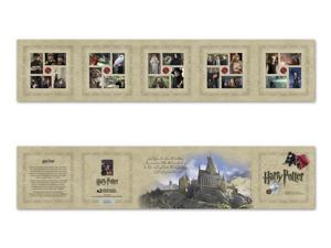 Harry Potter Souvenir booklet of 20 x Forever U.S. Postage Stamps 2013