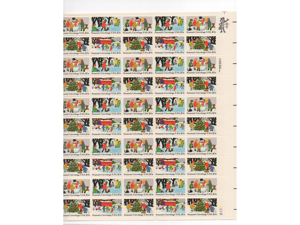 20 cent Season's Greetings Postage Stamps Scot 2027-30