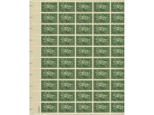 Gardening & Horticulture Sheet of 50 x 3 Cent US Postage Stamps NEW