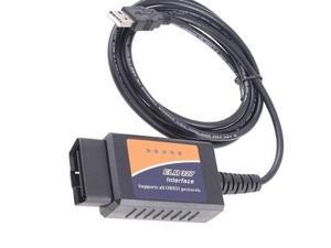 ELM327 USB Diagnostic Interface Tool for OBD-II Compliant Vehicles
