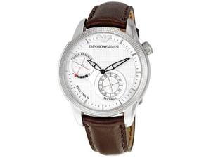 Men's Brown Emporio Armani Automatic Meccanico Watch AR4644