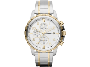 Men's Fossil Dean Chronograph Steel Watch FS4795