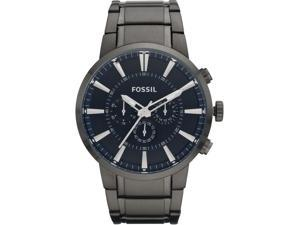 Fossil Men's Chronograph Black Dial  FS4358 Stainless-Steel Quartz Watch with Black Dial