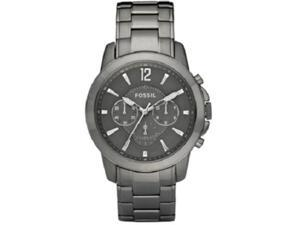 Fossil Grant Chronograph Gunmetal Ion-plated Mens Watch FS4584
