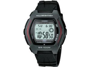 Casio HDD600-1AV Men's Chronograph Digital Sports Watch w/ Black Resin Band
