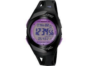 Casio Digital 60-Lap Grey Dial Women's watch #STR300-1C