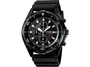 Men's Black Casio Diver's Chronograph Watch AMW330B-1AV