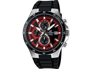 Casio EFR519-1A4V Men's Edifice 3-Hand Analog Chronograph Watch w/ Resin Band
