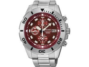 Men's Seiko Chronograph Steel Sport Watch SNDE15