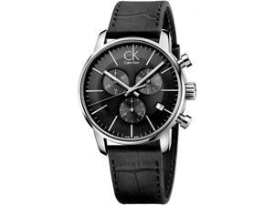 Men's Calvin Klein ck City Chronograph Dress Watch K2G271C3