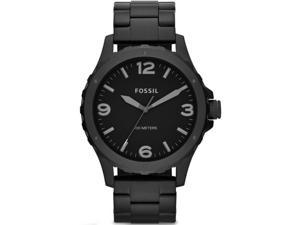 Men's Black Fossil Nate Diver's Style Steel Watch JR1458