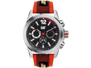 Men's Red Caterpillar CAT Big Twist Chronograph Watch YO 149 68 128