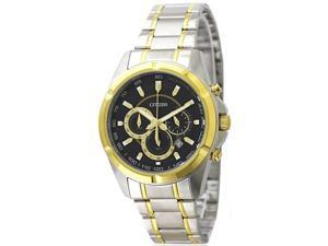 Men's Two-Tone Citizen Chronograph Steel Watch AN8044-53E