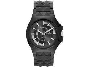 Mens Black Diesel Stud Watch DZ1646