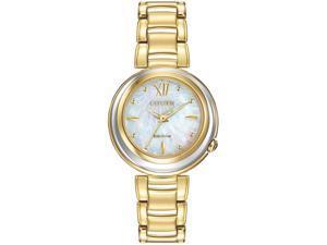 Women's Gold Citizen Sunrise Eco-Drive Watch EM0334-54D
