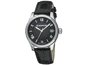 Women's Wenger Terragraph Series Leather Band Watch 0521.104
