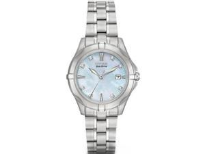 Citizen Silhouette Female Diamond Eco-Drive Watch - EW1930-50D