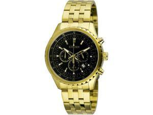 Men's Gold Citizen Chronograph Stainless Steel Watch AN8062-51E