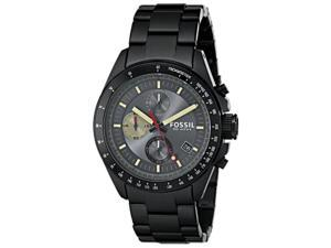 Men's Black Fossil Decker Chronograph Watch CH2942