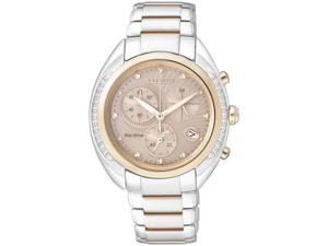 Women's Citizen Eco-Drive Diamond Chronograph Watch FB1385-53W