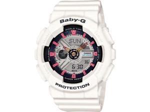 White Casio Baby-G Ani-Digi 3D Watch BA110SN-7A