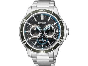 Men's Citizen Eco-Drive Multi-Function Sports Watch BU2040-56E