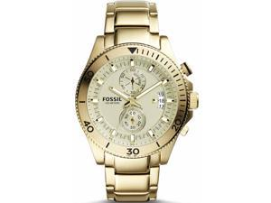 Fossil CH2974 Men's Gold-Tone Fossil Wakefiled Chronograph Watch