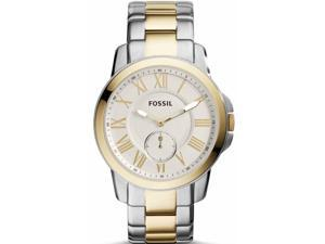 Fossil FS5026 Men's Two-Tone Fossil Grant Slim Stainless Steel Watch