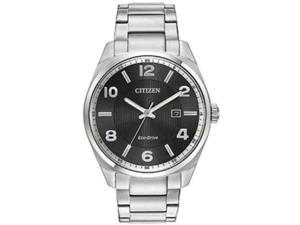 Men's Citizen Eco-Drive Stainless Steel Dress Watch BM7320-52H