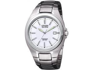 Men's Citizen Eco-Drive Titanium Watch BM6200-50A