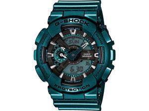 Green Casio G-Shock Analog Digital Sports Watch GA110NM-3A