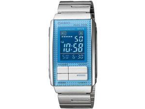 Women's Casio Futurist Chronograph Digital Watch LA201W-2B