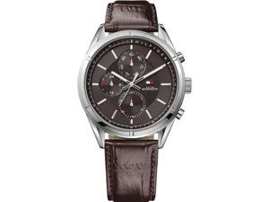Men's Tommy Hilfiger Multi-Function Leather Strap Watch 1791126