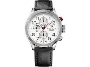 Men's Tommy Hilfiger Multi-Function Leather Strap Watch 1791138