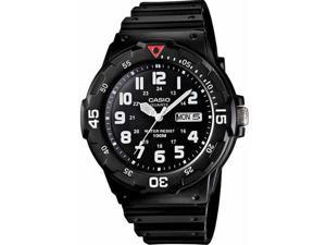 Casio MRW200H-1BV Men's Classic 100M Dive-Inspired Analog Quartz Sports Watch