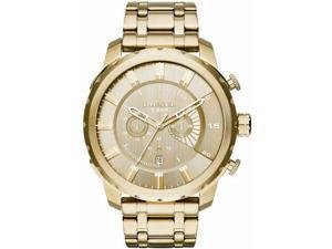 Diesel Stronghold Oversized Chronograph Gold Watch DZ4376