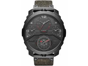 Mens Diesel Machinus Oversized 4 Time Zone Watch DZ7358
