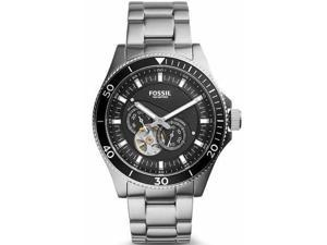 Men's Fossil Wakefield Automatic Skeleton Watch ME3090
