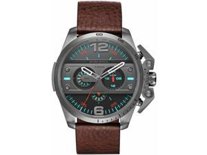 Mens Diesel Ironside Black Chronograph Watch DZ4387