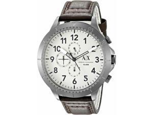 Men's Armani Exchange Aeroracer Dark Brown Strap Chronograph Watch AX1757