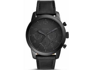 Men's Fossil Pilot 54 Black Chronograph Watch FS5157
