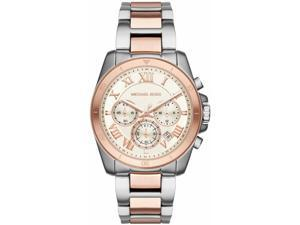 Women's Michael Kors Brecken Rose Steel Chronograph Watch MK6368